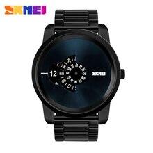 Grand cadran nouvelle montre à Quartz hommes femmes étanche mode tenue décontractée haut marque de luxe SKMEI Relogio Masculino