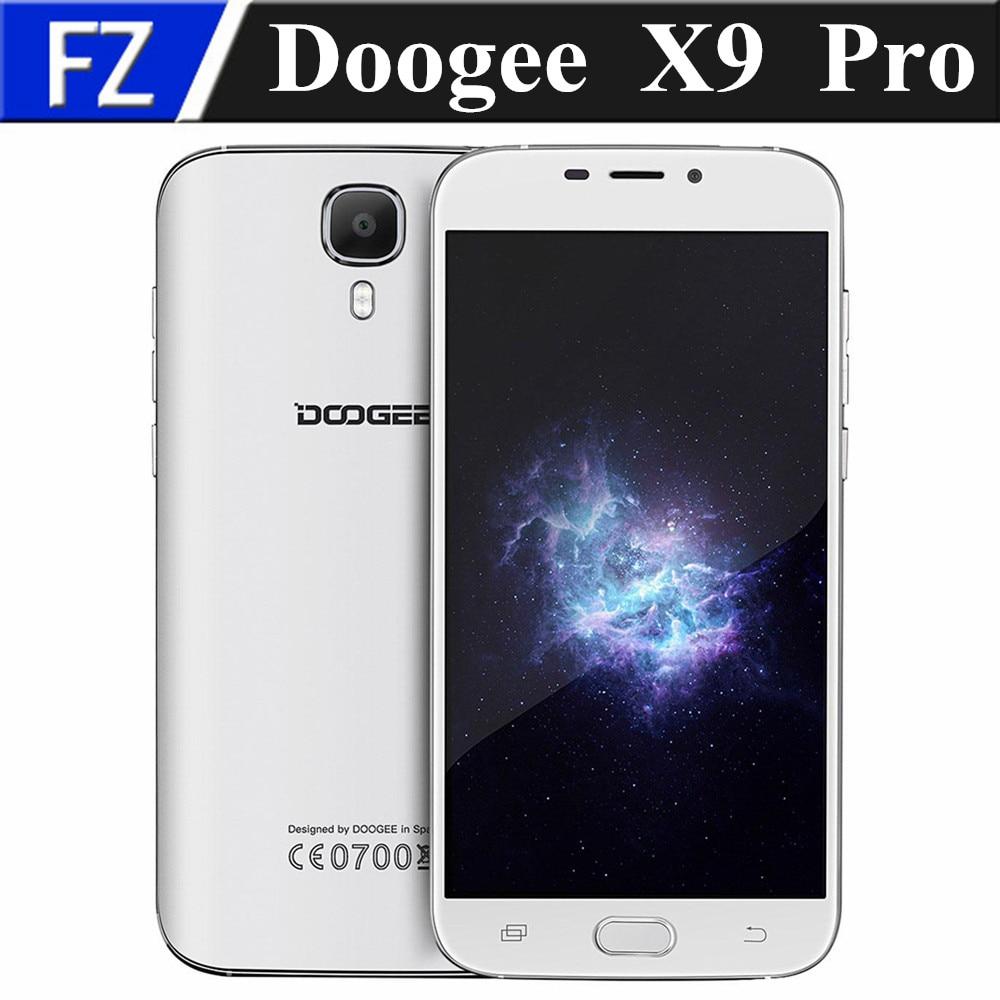 "bilder für 5,5 ""Doogee X9 Pro IPS 720 P MTK6737 quad core Android 6.0 4G LTE smartphone 8MP 2 GB RAM 16 GB ROM dual sim OTG GPS fingerprint"