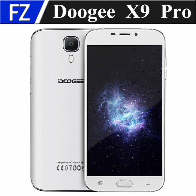 "5.5"" Doogee X9 Pro IPS 720P MTK6737 quad core Android 6.0 4G LTE smartphone 8MP 2GB RAM 16GB ROM dual sim OTG GPS fingerprint"