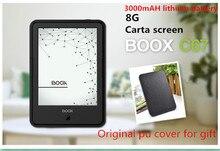 Eredaer ONYX BOOX C67ML carta 3000 mAh e-book écran tactile Android 4.22 8G Wi-Fi E-encre Avant Glowlight ebook reader + PU couverture