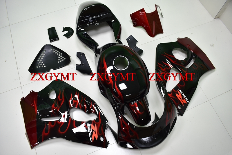 Body Kits for GSX-R600 1996 - 2000 Fairing Kits GSXR 750 1996 Black Red Frame Fairing GSXR 750 1998Body Kits for GSX-R600 1996 - 2000 Fairing Kits GSXR 750 1996 Black Red Frame Fairing GSXR 750 1998