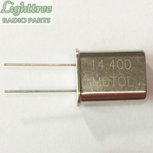 10X חדש קריסטל מתנד 14.400Mhz עבור מוטורולה GM300 רכב שני להיזהר רדיו