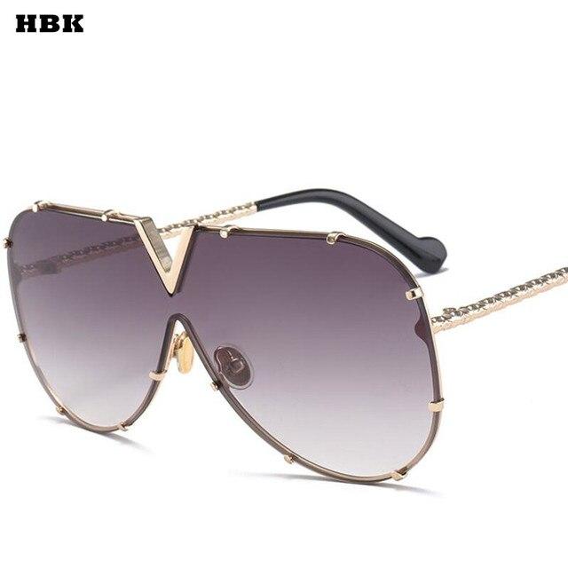 Art Und Weisedame-Sonnenbrille-Katzeaugen-Sonnenbrille-Weibliche Sonnenbrille Goldrahmen Luxusgold gbOP787t