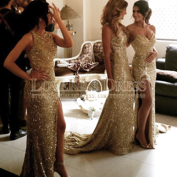 Collection Gold Dress Cheap Pictures - Reikian