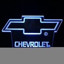 ws0068 CHEVROLET Day/ Night Sensor Led Night Light Sign