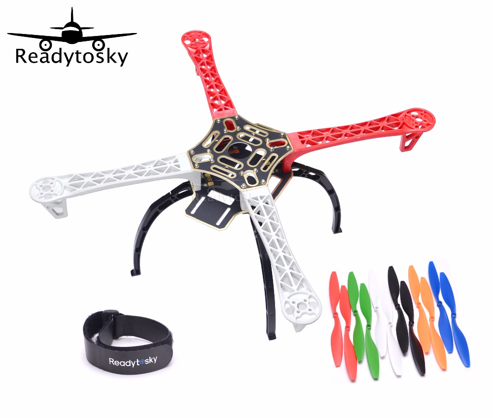 F450 450 Quadcopter MultiCopter Frame kit  W/ Black Tall Landing Gear Skid for 2212 920KV motor 30a Simonk ESC  F450 F550 500mm s500 quadcopter multicopter frame kit 2212 920kv brushless motor emax 30a simonk emax blheli 30a esc 1045 propeller