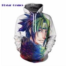 Classic Anime Naruto 3D Print Men's Hoodies Sportswear Hip Hop Hooded Sweatshirts