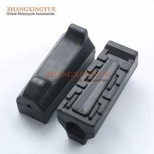 2 шт., одна пара, передняя резиновая лапка для ног, Peg Для Yamaha YBR125 YBR 125 ED YBR125 ED 5VL-F7413-00