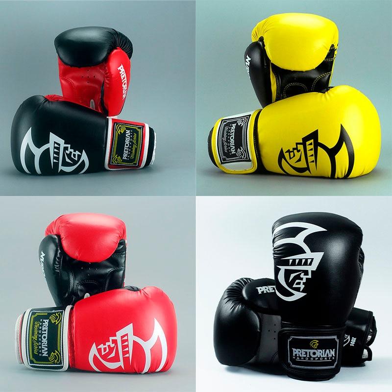 10-16 OZ PRETORIAN Muay Thai PU Kožené děti Ženy Muži MMA - Sportovní oblečení a doplňky