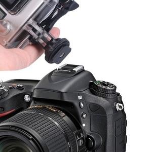 Image 5 - Smatree Full Aluminum Tripod Screw for GoPro hero 8 to DSLR Camera Flash Hot Shoe Mount Adapter for GoPro Hero Fusion, 6 5 4,3+