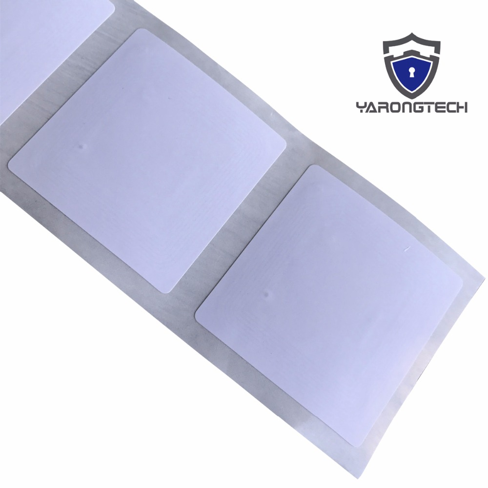 Pack of 8 YARONGTECH Anti-metal NFC sticker RFID on metal tag label MIFARE Classic/® 1k 13.56mhz Dia 25mm