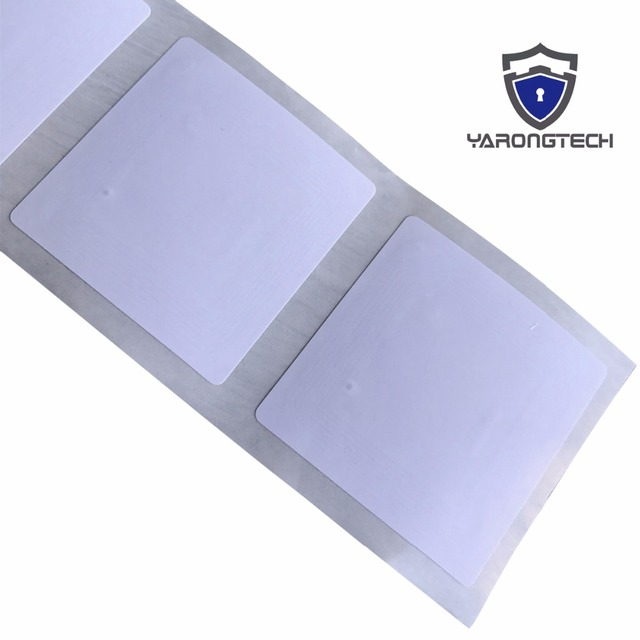 YARONGTECH ISO/IEC 15693 HF RFID Paper Tag Library Labels   ICode SLIX (Pack of 20)