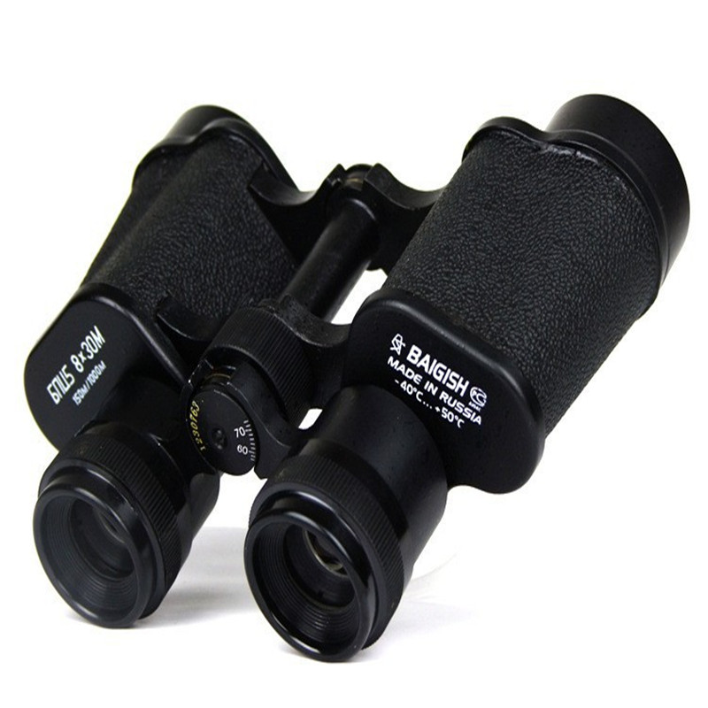 цены  Hd wide-angle Central Zoom  Military metal Binoculars telescope no night vision 8X30   150m/1000m