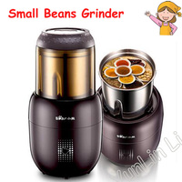 Small Multifunction Food Mill Grinding Machine Home Portable Stainless Steel 200g Food Mill Herbs Nuts Cafe Grinder FSJ A03D1