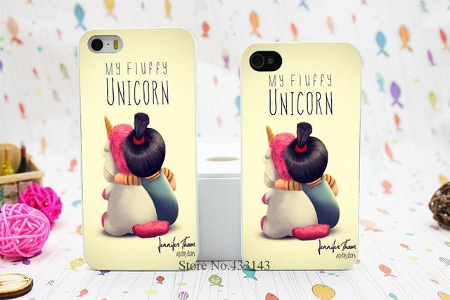 Sale Minion My Unicorn Agnes Style Hard White Skin Case Cover for iPhone 5 5s 5g
