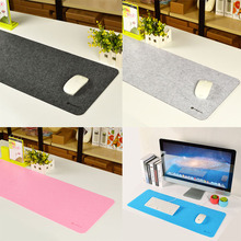 Large Wool keyboard mouse pad, 800*300mm and edge locking, speed version laptop computer mat for professional gamer