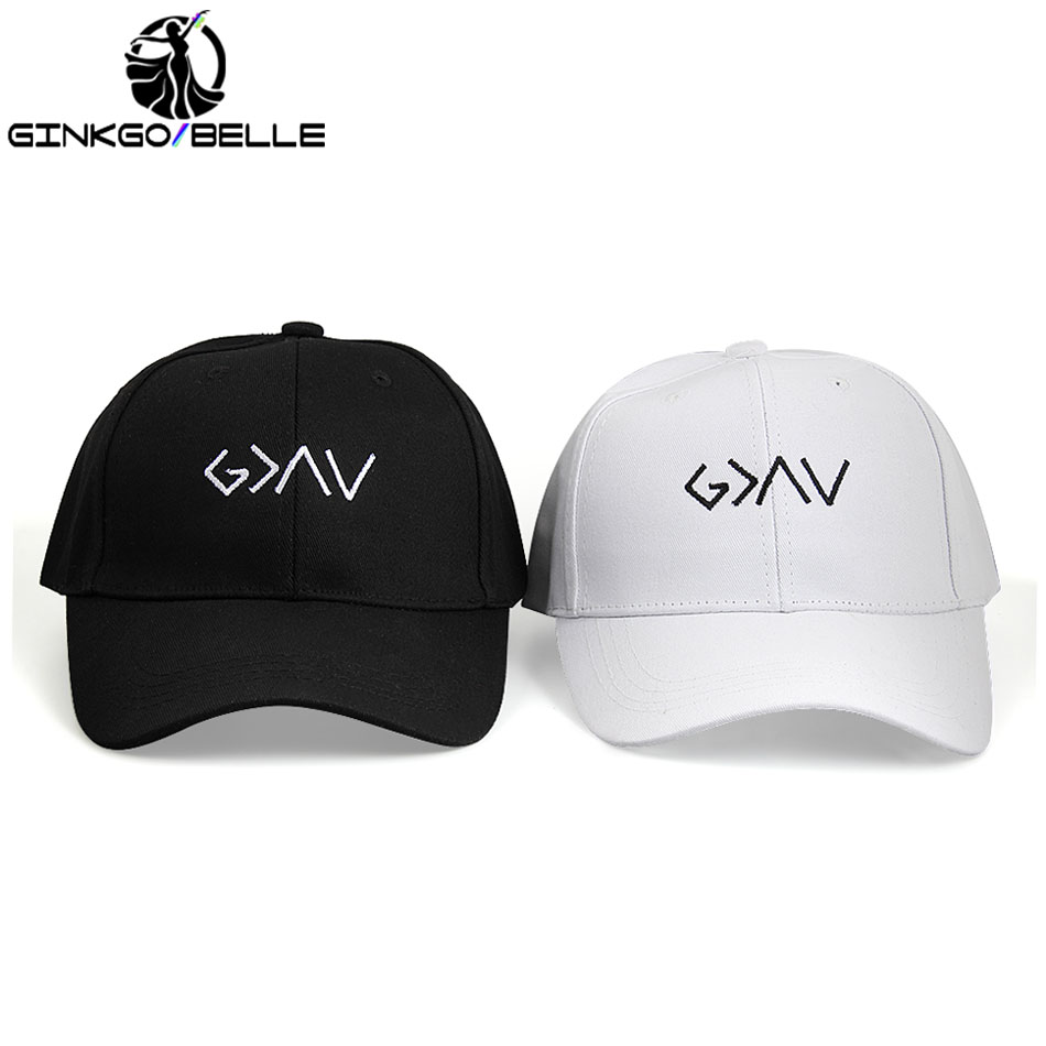 2pcs/set GOD IS GREATER Baseball Hat Embroidered Dad Cap Than Highs and Lows Best Friends Good Friendship Lovers Relationship