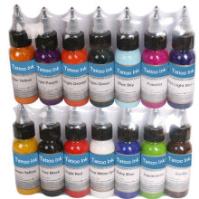 Tattoo Inks 14 Colors 30ml/bottle Tattoo Pigment Inks Set For Body Tattoo Art Kit Free Shipping by nani