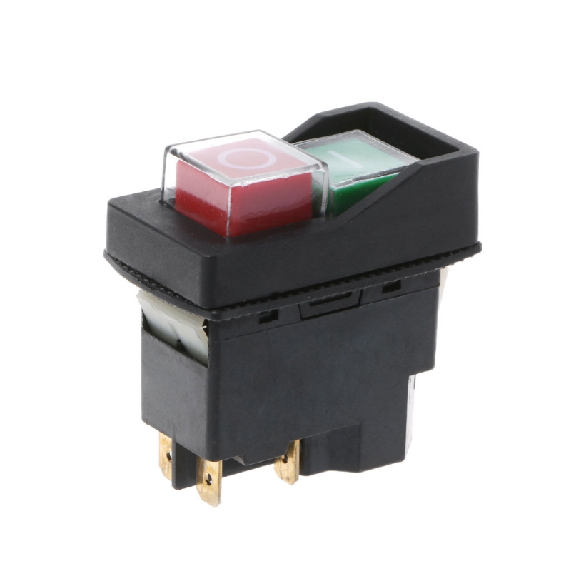 OOTDTY 1PC KLD-28A Waterproof Magnetic Switch Explosion-proof Pushbutton Switches 220V IP55 ootdty 1pc rsg 100atc 0 32% brix