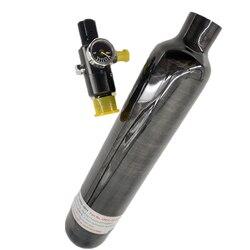 Acecare Paintball PCP cilindro de fibra de carbono Rifle de aire tanque de buceo 350cc/500cc 4500Psi Airforce Condor/Rifle de aire con regulador