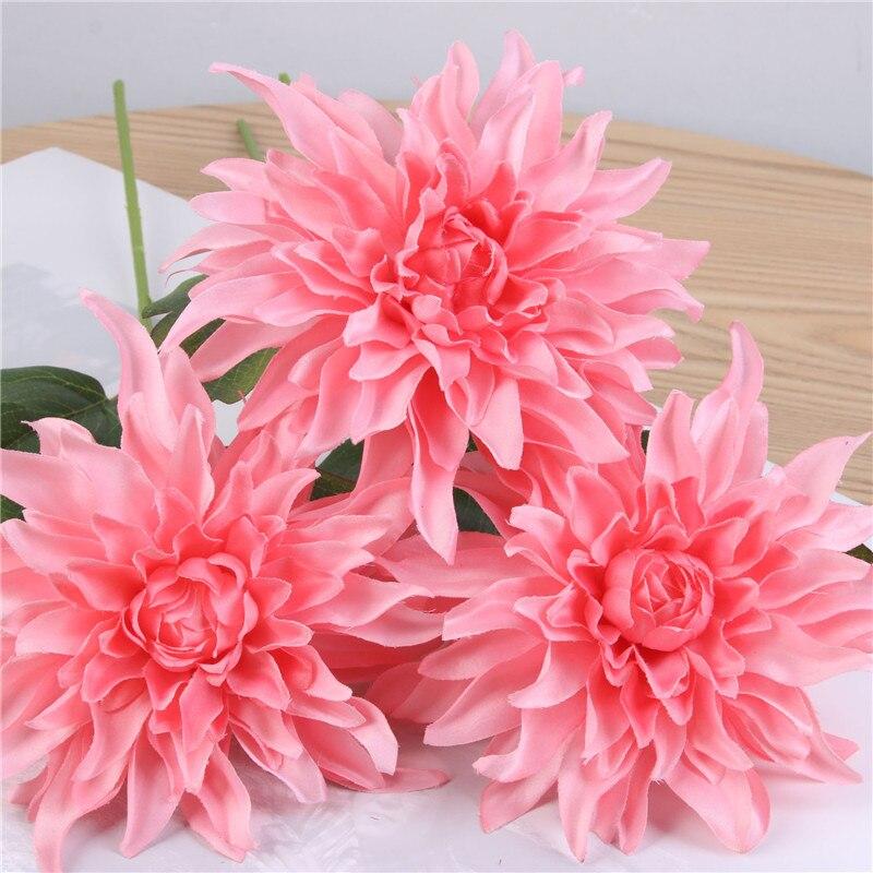 1 Bouquet Paeonia flower Artificial Flower Silk fake flower Bride Bouquets for Home Party Decor Wedding Decoration