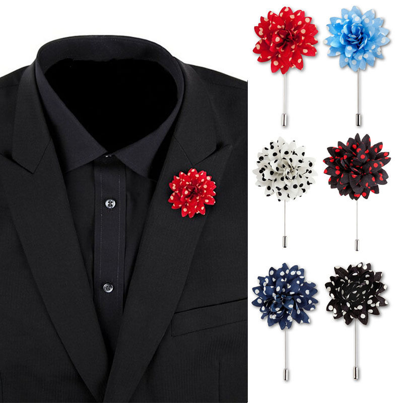 chain gold diamante pin lapel tie hlpdxi men tack suit itm rhinestone s accessories brooch mens