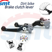 Folding Clutch Brake Lever Dirt Bike Motocross FLEX Pivot Brake Clutch Levers For Suzuki RM 125