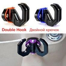 Motorbike Motorcycle Gadgets Hook Helmet Hanger Glove Universal for Honda Kawasaki Yamaha Scooter Street Bike