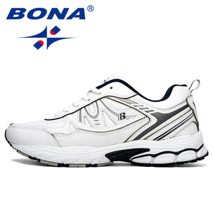 Image 4 - بونا 2019 جديد الكلاسيكية الرجال احذية الجري في الهواء الطلق أحذية رياضية Zapatos خفيفة الوزن مريحة رياضية الذكور رياضية العصرية