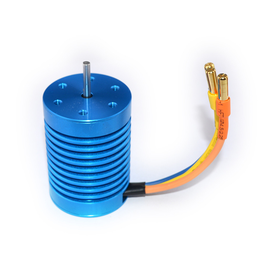 CYW-3650 3930KV Slot Sensorless Brushless Motor for 1/10 RC Racing Car NO6b