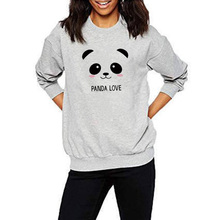 3910d0f5cabe EnjoytheSpirit New Sweatshirt Spring Autumn Long Sleeve Panda Printed  Crewneck Jumper Women Unisex Good Quality Fashion