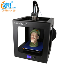 Super Intelligent CREALITY 3D CR-2020 Auto Leveling 3D Printer Full Assembled Large Printing Size With Aluminum Hotbed LCD Gift