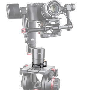 Image 5 - لوحة تثبيت سريعة صغيرة الحجم لـ DJI Ronin/DJI Ronin m (Mini) و Ronin MX مثبت نظام تثبيت فيديو مثبت ثلاثي القوائم 1682