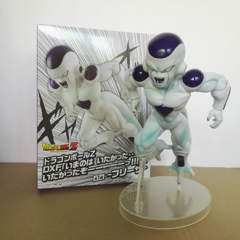 New DXF Freeza Dragonball Z Comic Anime Frieza Figurine action figure Model 18cm PVC Collection Doll toys Dragon ball doub k 1 pcs action figure toy pvc sexy figurine female doll 20cm anime kawaii model toys collection car decoration figures
