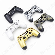 Repair Parts For PS4 Thumbstick P4 Controller Shell For PS4 Grip Housing Have Black White And Camouflage Color