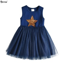 US $5.68 42% OFF|Dxton Girls Summer Dress Star Sequin Tutu Kids Sleeveless Dress For Girl Rabbit Princess Party Vestidos Unicorn Children Clothes-in Dresses from Mother & Kids on Aliexpress.com | Alibaba Group
