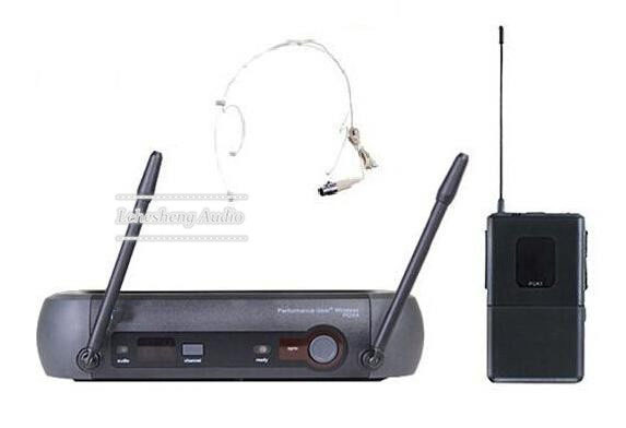 UHF PRO Microphone System PGX4 Receiver +  Headset Microphone