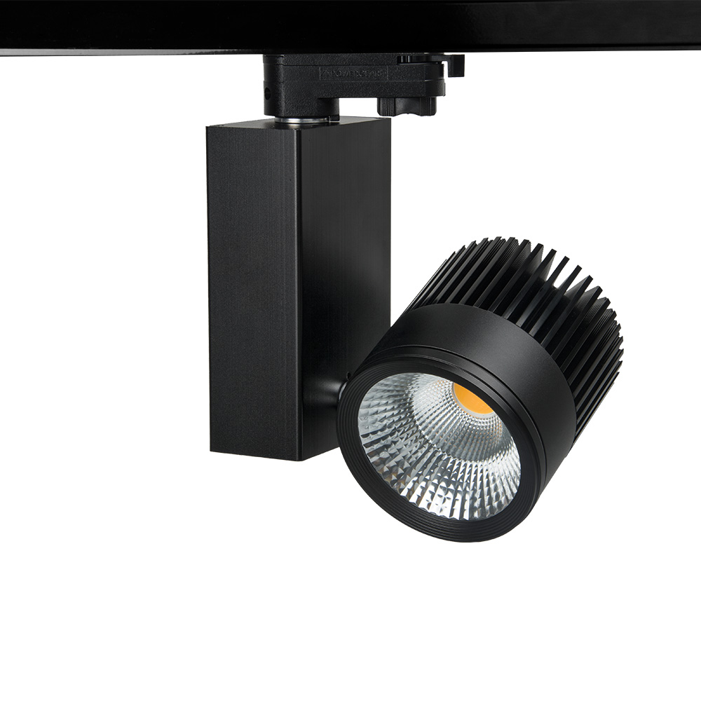 130LM/W CRI90 LED Rail Lighting 40W COB LED Track Light Black/White/Silver/Grey Shell LED Ceiling Lamps 3000K-6000K Dimmable 9892 50x 12 8mm microscope w 2 led white 1 led purple light grey black