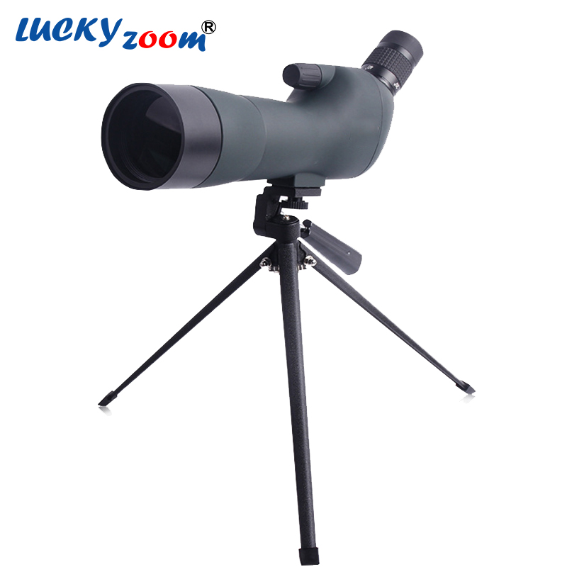 Luckyzoom Quality Monocular 20-60x60 Spotting Scope For Birdwatching Landscape Viewing Birding Tripod Telescope Free Shipping 20 60x60 zoom hd adjustable monocular telescope spotting scope with portable tripod telescopio for birdwatching hunting