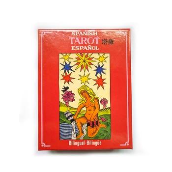 SPANISH Tarot Board Game High Quality Cards Game Tarot Game with English/French/Spanish Edition Instructions joaquín lorenzo villanueva ano christiano de espana volume 7 spanish edition