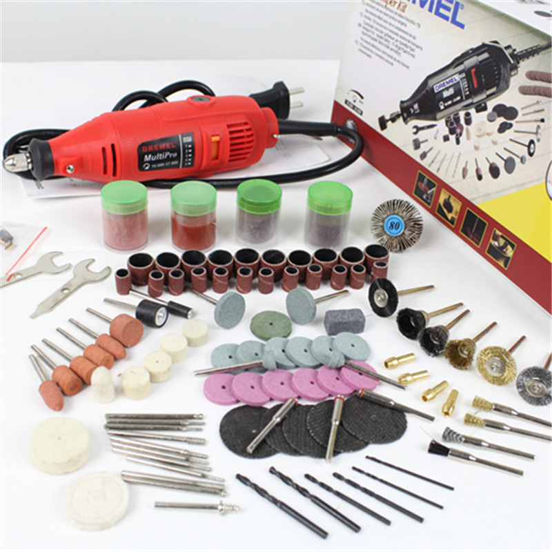 Dremel Grinder Variable Speed Rotary Tool with  Accessories ,Mini Drill Set for wordwork drilling carving and polishing 1980w variable speed electric hammer drill with 33pcs accessories electric household tool drilling impact drill screwdriver