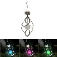 Colorful Solar Power Wind Chime Light LED Light Lamp Lawn Light for Outdoor Garden Courtyard Hanging