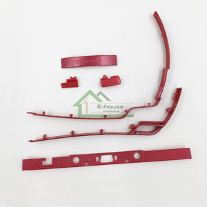 Image 3 - عالية الجودة البلاستيكية إطار زر on/off زر الطاقة الشريط ل psp2000 psp 2000 الإسكان شل البلاستيك الإطار