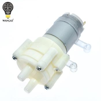 WAVGAT DC6-12V R385 akwarium okrągła woda powietrze DC membrana pompa do akwarium pompa powietrza akcesoria tanie i dobre opinie Nowy electronic module -40-+85