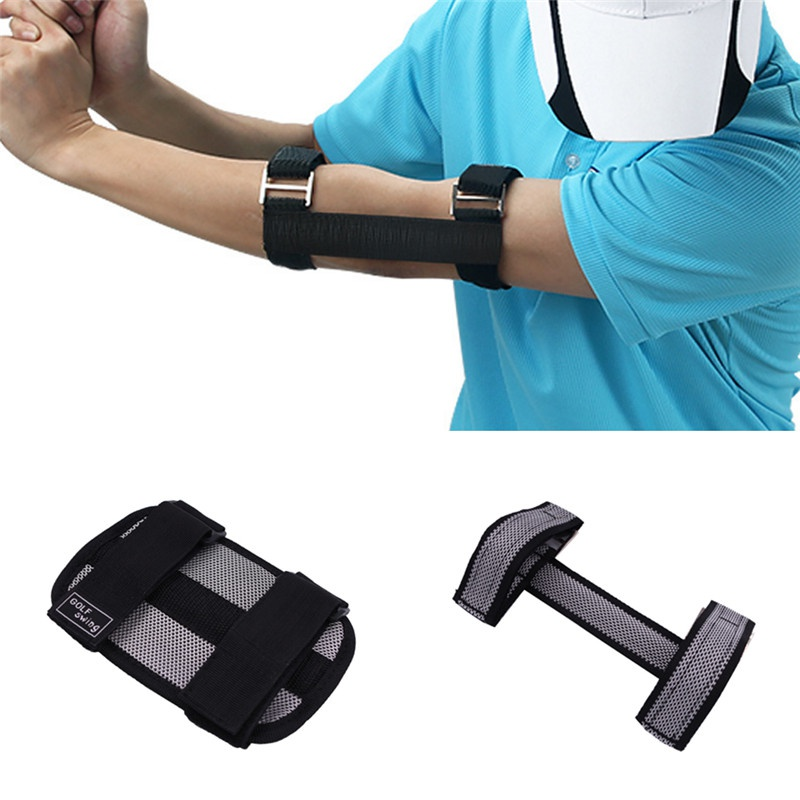 Golf Action Correction Belt Beginner Arm Alerter Golf Assistant Elbow Wrist Brace Posture Corrector For Beginners Arc Trainer