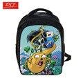 Аниме приключения время рюкзак для мальчиков школьные сумки дети ежедневно рюкзаки дети рюкзак мультфильм сумки ранцы лучший подарок сумки