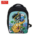 Anime Adventure Time Backpack For Boys School Bags Kids Daily Backpacks Children Backpack Cartoon Bags Schoolbags Best Gift Bag