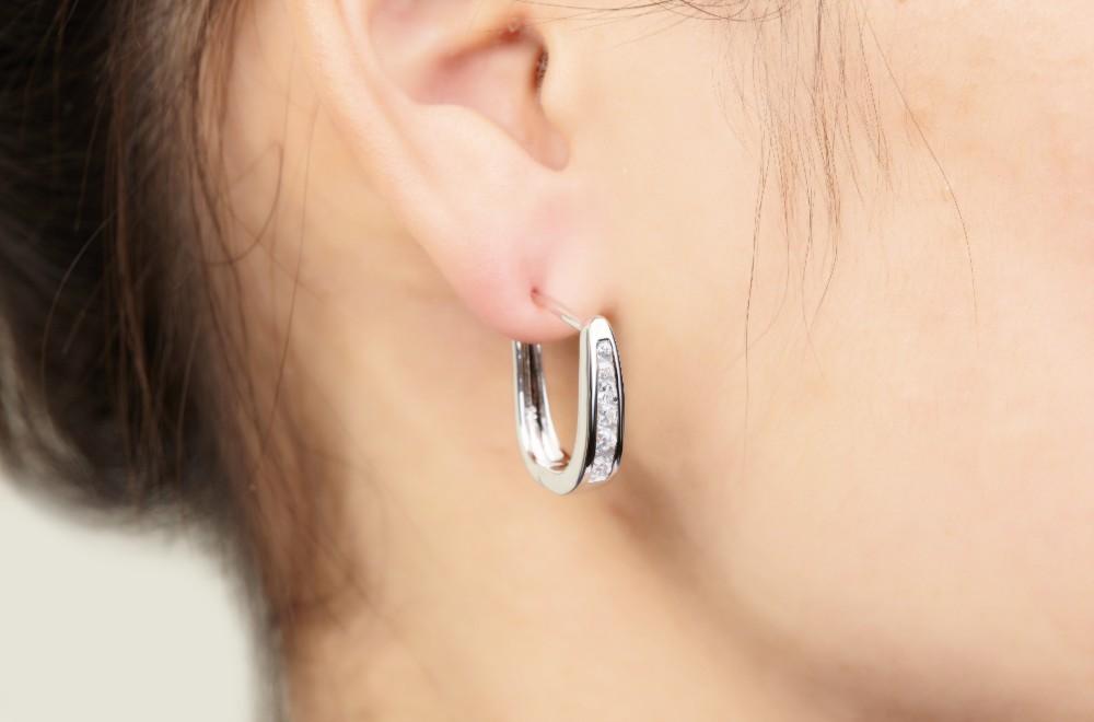 sterling silver,for 925 silver earrings DE33420A (3)