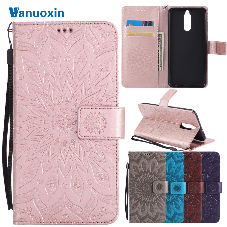 Vanuoxin Phone Cases sFor Fundas huawei Mate 10 lite case For coque huawei Mate 10 lite cover 3D Wallet Flip Cover Leather Case