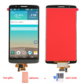 For LG G3 D855 D850 LCD Display Touch Screen with Digitizer Glass  Full Assembly + Adhesive + Free Tools , Grey Free shipping